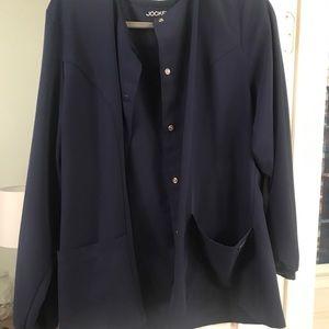 Jockey women's scrub jacket- navy